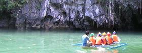 טיול לנהר התת-קרקעי פוארטו פרינססה